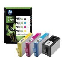 HP 920XL (C2N92AE) 4db-os BKCMY eredeti patroncsomag