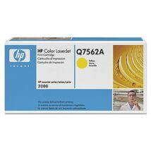 HP Q7562A (Y) eredeti toner