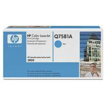 HP Q7581A (C) eredeti toner