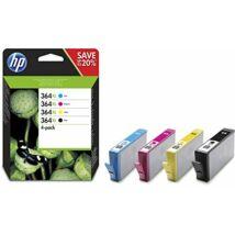 HP 364XL (N9J74AE) (Bk,C,M,Y) eredeti tintapatron csomag