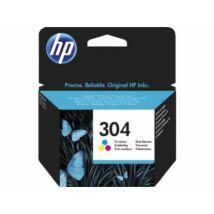 HP 304 (CMY) (N9K05AE) eredeti tintapatron