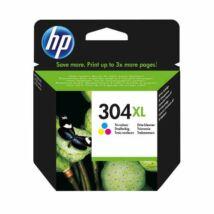HP 304XL (CMY) (N9K07AE) eredeti tintapatron