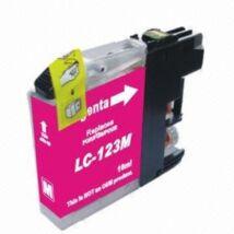 Brother LC123M  (Chipes) kompatibilis tintapatron