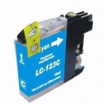 Brother LC123C (Chipes) kompatibilis tintapatron