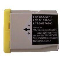 Brother LC970-LC1000BK kompatibilis tintapatron