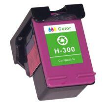 HP 300XL CMY (CC644EE) kompatibilis tintapatron