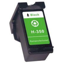 HP 350XL BK (CB336E) kompatibilis tintapatron