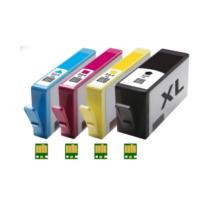 HP 364XL chippes kompatibilis tintapatron csomag