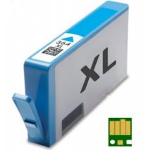 HP 364XL C (CB323EE) chippes kompatibilis tintapatron