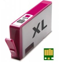HP 364XL M (CB324EE) chippes kompatibilis tintapatron