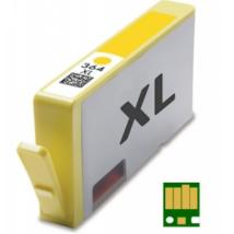 HP 364XL Y (CB325EE) chippes utángyártott tintapatron