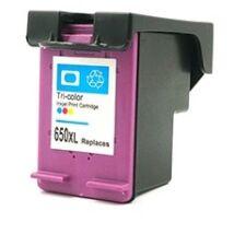 HP 650XL CMY (CZ102AE) kompatibilis tintapatron