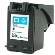 HP 650XL Bk (CZ101AE) kompatibilis tintapatron