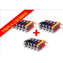 Canon PGI-550XL/CLI-551XL kompatibilis tintapatron tripla multipack