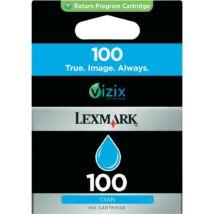Lexmark 100 (C) (14N0900E) eredeti tintapatron