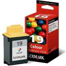 Lexmark 19 (15M2619E) eredeti tintapatron