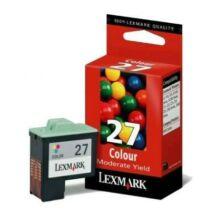 Lexmark 27 (10N0227) eredeti tintapatron