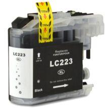 Brother LC223 (BK) kompatibilis tintapatron