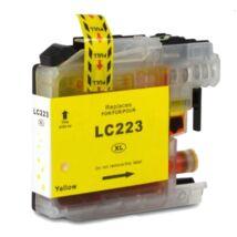 Brother LC223 (Y) kompatibilis tintapatron