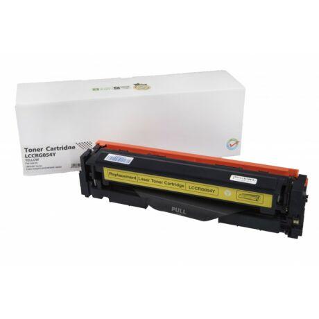 Canon 054 (CRG-054) sárga [1,2K] kompatibilis toner Orink WhiteBox www.tinta-patron.hu