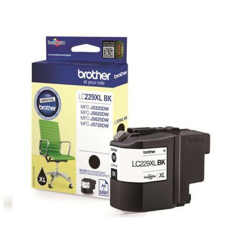 Brother LC229XL (BK) eredeti tintapatron