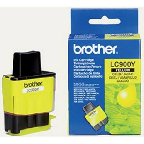Brother LC900Y eredeti tintapatron