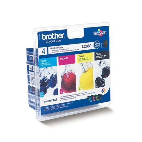 Brother LC980BKCMY eredeti tintapatron csomag
