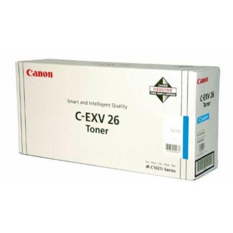 Canon C-EXV26 (C) eredeti  toner