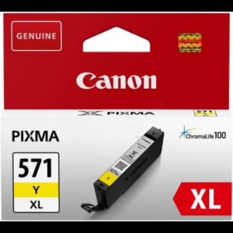 Canon CLI-571XL (Y) eredeti tintapatron