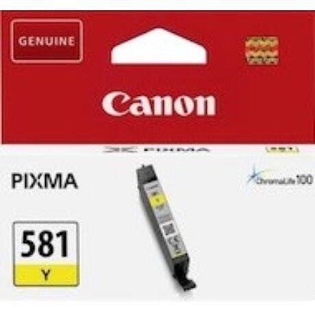Canon CLI-581 (Y) eredeti tintapatron
