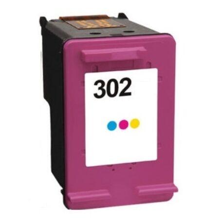 HP 302 (CMY) (F6U65AE) kompatibilis tintapatron \EcoSmart\