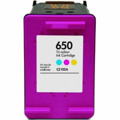 HP 650 CMY (CZ102AE) kompatibilis tintapatron \EcoSmart\