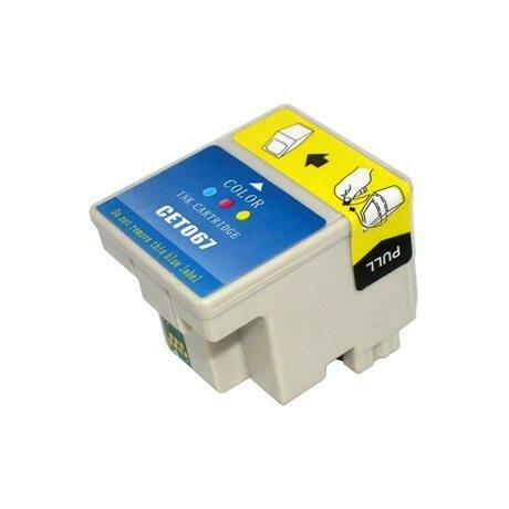 Epson T067CMY utángyártott tintapatron