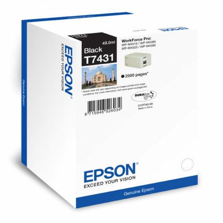 Epson T7431 eredeti tintapatron