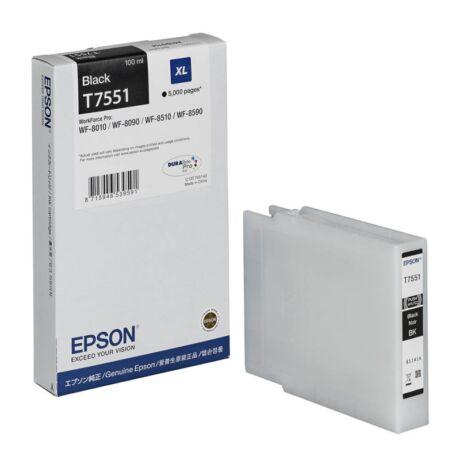 Epson T7551 XL eredeti tintapatron