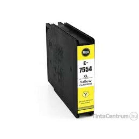 Epson T7554 XL [4k] kompatibilis tintapatron