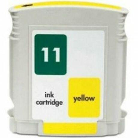 HP 11 Y (C4838A) utángyártott tintapatron