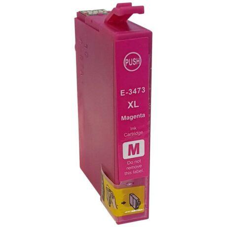 Epson 34XL (T3473) (M) kompatibilis tintapatron