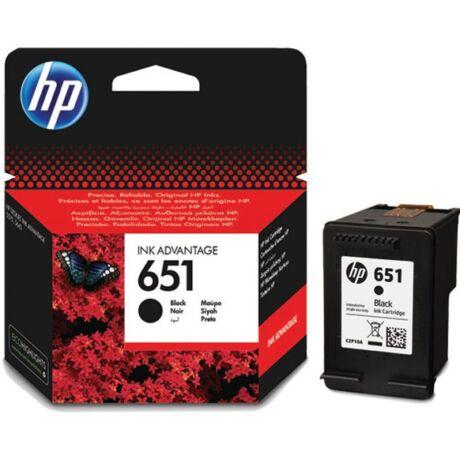 HP 651 (C2P10AE) (BK) eredeti tintapatron