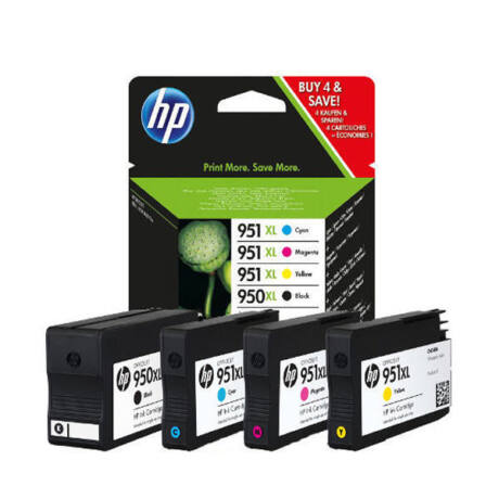 HP 950XL/951XL (C2P43AE) eredeti (BK,C,M,Y) tintapatron csomag