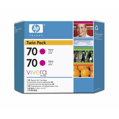 HP 70 M (CB344A) eredeti tintapatron dupla csomag