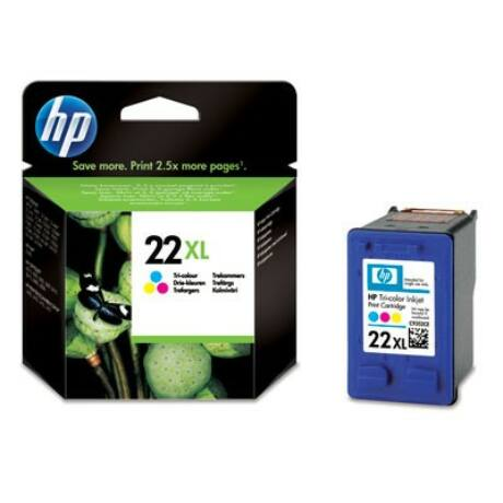 HP 22 XL (C9352CE) eredeti tintapatron