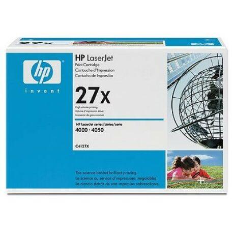 HP 27X (C4127X) eredeti toner