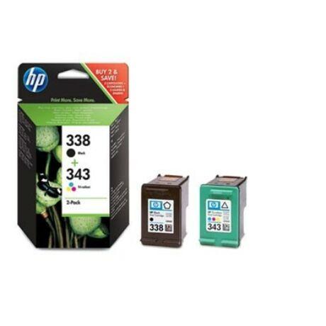 HP 338+343 (SD449EE) eredeti tintapatron csomag
