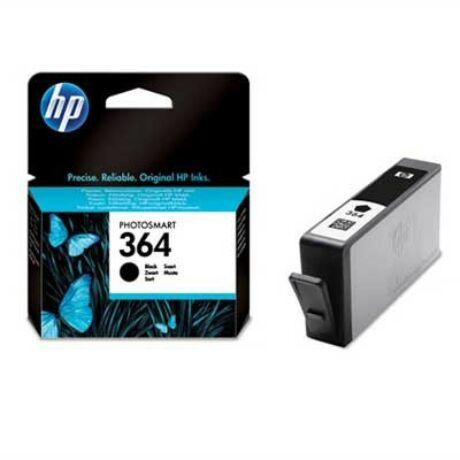 HP 364 (BK) (CB316EE) eredeti tintapatron