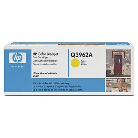 HP Q3962A (Y) eredeti toner