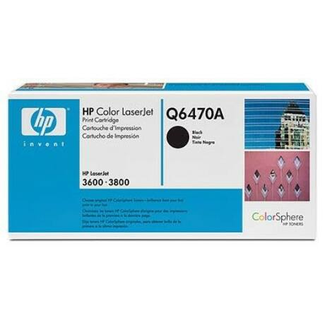 HP Q6470A (BK) eredeti toner