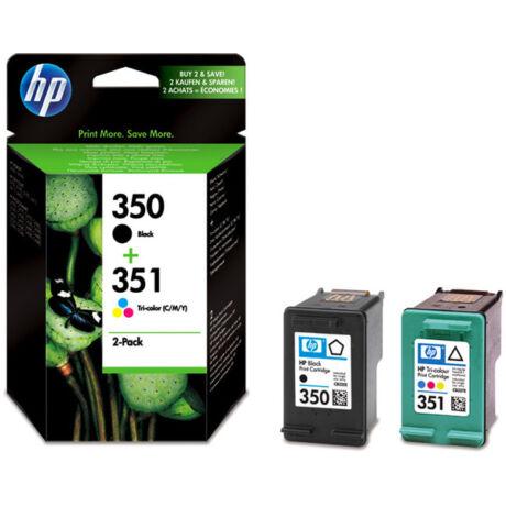 HP 350+351 (SD412EE) (BKCMY) eredeti patroncsomag