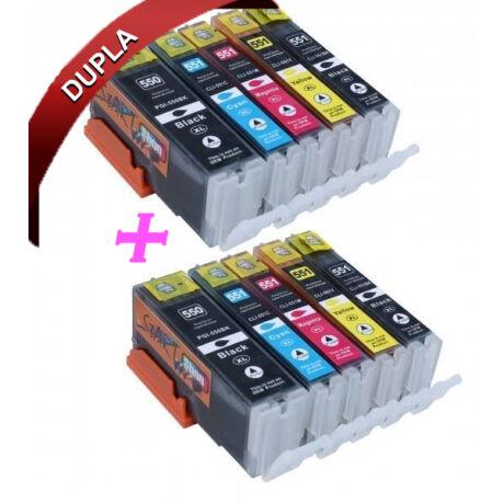 Canon PGI-550XL/CLI-551XL utángyártott tintapatron dupla multipack