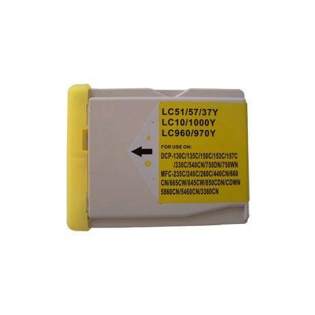 Brother LC970-LC1000Y utángyártott tintapatron
